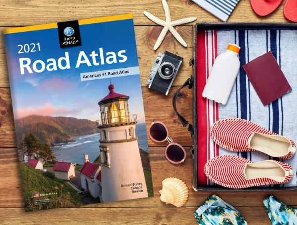 The new 97th edition of the Rand McNally Road Atlas -- for dreaming, planning, and navigating