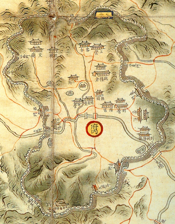 【 Map of late 19th century Ganghwado Island (owned by the Seoul National University Library) 】