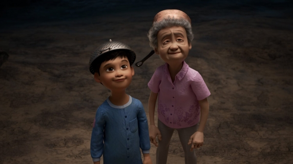 "The U.S. animation company Pixar on Feb. 26 released the animated short ""Wind"" in response to the recent rise of hate crimes against Asians in America. The film shows a Korean grandmother's love and sacrifice for her grandson. (Screen capture from Pixar's Facebook account)"